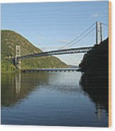 Bear Mountain Bridge Wood Print