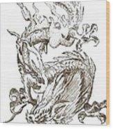 Bearer Of Fortune Wood Print