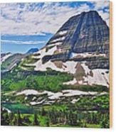 Bearhat Mountain Wood Print