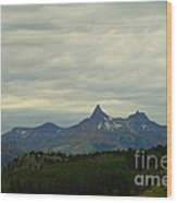 Beartooth Mountain Montana Wood Print