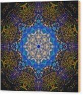 Beartooth Pass Kaleidoscope Wood Print