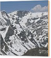 Beartooth Wilderness Wood Print
