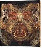 Beary Cool Wood Print