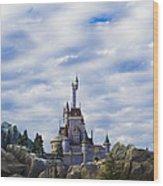 Beast Castle Wood Print