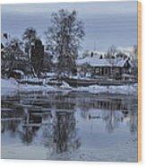 Beatiful Arboga Wood Print