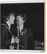 Beatles - 1 Wood Print
