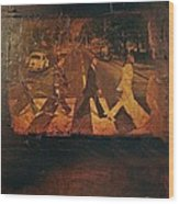Beatles Revisited Wood Print