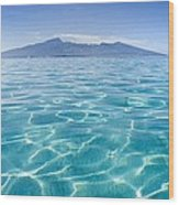 Beauitful Seascape Of Moorea Wood Print