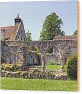 Beaulieu Abbey Wood Print