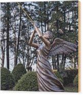 Beautiful Angel Wood Print