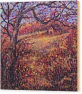 Beautiful Autumn Wood Print