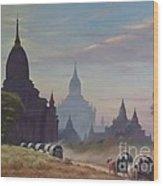 Beautiful Bagan Wood Print