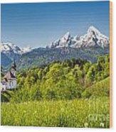 Beautiful Bavaria Wood Print