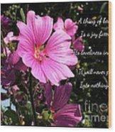 Beautiful Blossom 2 Wood Print