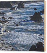 Beautiful California Coast Wood Print