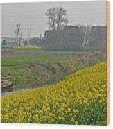 Beautiful China's Rural Scenery Wood Print