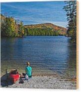 Beautiful Day To Kayak Wood Print