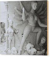 Surreal Kolkata Wood Print