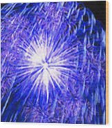 Beautiful Fireworks 11 Wood Print
