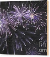 Beautiful Fireworks 7 Wood Print