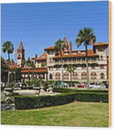 Beautiful Flagler College Wood Print