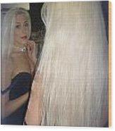 Beautiful Hair Wood Print