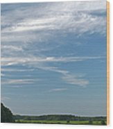 Beautiful Idyllic Cape Cod Wood Print by Juergen Roth