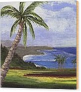 Beautiful Kauai Wood Print