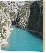 Beautiful Lac De Ste. Croix Wood Print