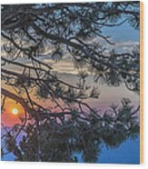 Pastel Morning Wood Print