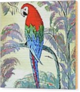 Beautiful Parrot For Someone Special Wood Print