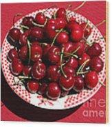 Beautiful Prosser Cherries Wood Print