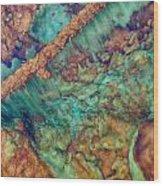Beautiful Rebar Hot Springs Wood Print
