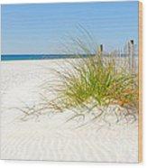 Beautiful Sand Dune Wood Print