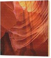 Beautiful Sandstone Wood Print