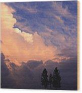 Beautiful Sky Wood Print