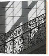Beautiful Staircase Wood Print