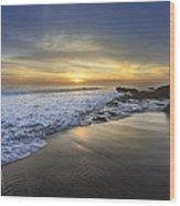 Beautiful Sunrise Wood Print