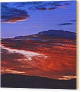 Beautiful Sunrise In Boise Wood Print