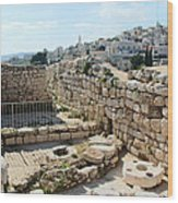 Beautiful Taybeh Village Wood Print