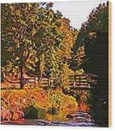 Beautiful Victoria Park Truro Nova Scotia Wood Print