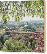 Beautiful View Of Prague Wood Print