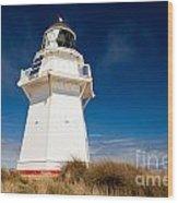 Beautiful Waipapa Point Lighthouse The Catlins Nz Wood Print