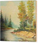Beautiful Wild  Wood Print