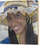 Beautiful Women Of Brazil 11 Wood Print