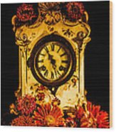 Beauty And Time Wood Print