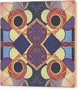 Beauty In Symmetry 1 - The Joy Of Design X X Arrangement Wood Print