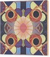 Beauty In Symmetry 4 - The Joy Of Design X X Arrangement Wood Print