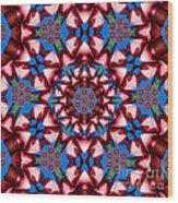 Beauty Of Aruba Kaleidoscope Wood Print