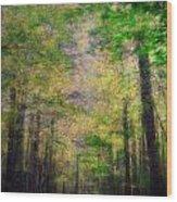 Beauty Of Nature Wood Print